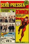 Cover for Serie-pressen (Saxon & Lindström, 1971 series) #9/1972