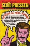 Cover for Serie-pressen (Saxon & Lindström, 1971 series) #11/1972