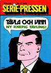 Cover for Serie-pressen (Saxon & Lindström, 1971 series) #13/1972