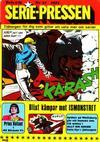 Cover for Serie-pressen (Saxon & Lindström, 1971 series) #17/1972