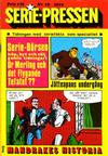 Cover for Serie-pressen (Saxon & Lindström, 1971 series) #18/1972