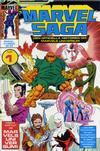 Cover for Marvel Saga (SatellitFörlaget, 1988 series) #1