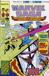 Cover for Marvel Saga (SatellitFörlaget, 1988 series) #8