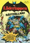 Cover for Läderlappen (Semic, 1976 series) #5/1977