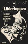 Cover for Läderlappen (Semic, 1976 series) #8/1977