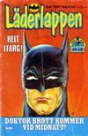 Cover for Läderlappen (Semic, 1976 series) #6/1981