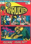 Cover for Varulven (Svenska serier, 1972 series) #1/[1972]