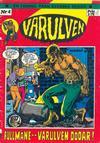 Cover for Varulven (Svenska serier, 1972 series) #4
