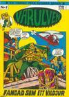 Cover for Varulven (Svenska serier, 1972 series) #5/[1973]