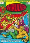 Cover for Varulven (Svenska serier, 1972 series) #6
