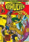 Cover for Varulven (Svenska serier, 1972 series) #7