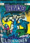 Cover for Varulven (Svenska serier, 1972 series) #11/[1973]