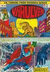 Cover for Varulven (Svenska serier, 1972 series) #12