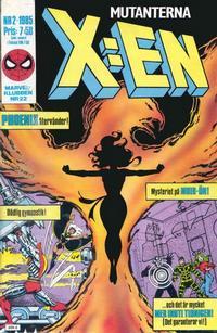 Cover Thumbnail for X:en (Semic, 1984 series) #2/1985