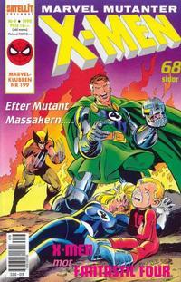 Cover Thumbnail for X-Men (SatellitFörlaget, 1990 series) #9/1990