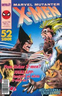 Cover Thumbnail for X-Men (SatellitFörlaget, 1990 series) #12/1990