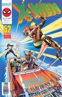 Cover Thumbnail for X-Men (SatellitFörlaget, 1990 series) #1/1991