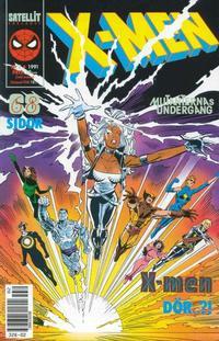 Cover Thumbnail for X-Men (SatellitFörlaget, 1990 series) #2/1991