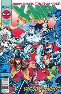 Cover Thumbnail for X-Men (SatellitFörlaget, 1990 series) #4/1991