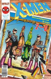 Cover Thumbnail for X-Men (SatellitFörlaget, 1990 series) #5/1991