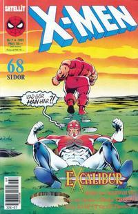 Cover Thumbnail for X-Men (SatellitFörlaget, 1990 series) #7/1991