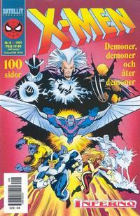 Cover Thumbnail for X-Men (SatellitFörlaget, 1990 series) #8/1991