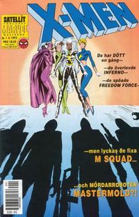Cover Thumbnail for X-Men (SatellitFörlaget, 1990 series) #1/1992