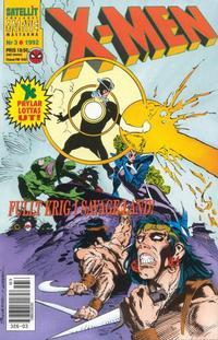 Cover Thumbnail for X-Men (SatellitFörlaget, 1990 series) #3/1992