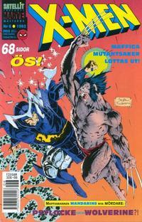 Cover Thumbnail for X-Men (SatellitFörlaget, 1990 series) #6/1992