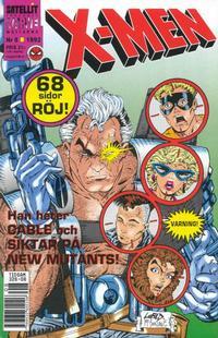 Cover Thumbnail for X-Men (SatellitFörlaget, 1990 series) #8/1992