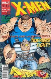 Cover Thumbnail for X-Men (SatellitFörlaget, 1990 series) #9/1992
