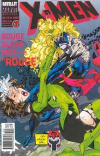Cover Thumbnail for X-Men (SatellitFörlaget, 1990 series) #10/1992