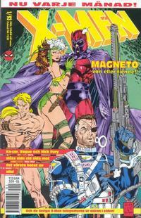 Cover Thumbnail for X-Men (SatellitFörlaget, 1990 series) #1/1993