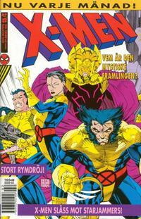 Cover for X-Men (SatellitFörlaget, 1990 series) #2/1993