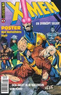 Cover Thumbnail for X-Men (SatellitFörlaget, 1990 series) #5/1993