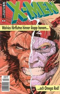 Cover Thumbnail for X-Men (SatellitFörlaget, 1990 series) #10/1993