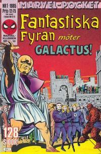 Cover Thumbnail for Marvel-pocket (Semic, 1984 series) #1/1985; 2