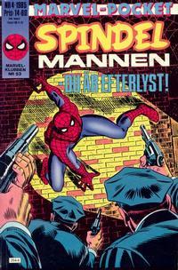 Cover Thumbnail for Marvel-pocket (Semic, 1984 series) #4/1985; 5