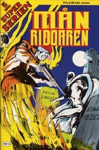 Cover Thumbnail for Superserien (Månriddaren) (Hemmets Journal, 1981 series) #5/1981