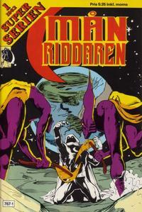 Cover Thumbnail for Superserien (Månriddaren) (Hemmets Journal, 1981 series) #1/1982