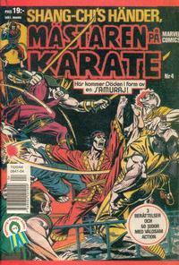 Cover Thumbnail for Mästaren på karate (Oscar Caesar, 1993 series) #4/1993