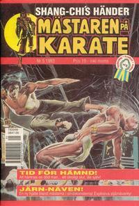 Cover Thumbnail for Mästaren på karate (Oscar Caesar, 1993 series) #5/1993