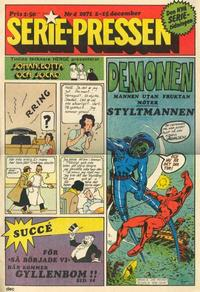 Cover Thumbnail for Serie-pressen (Saxon & Lindström, 1971 series) #4/1971
