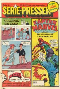 Cover Thumbnail for Serie-pressen (Saxon & Lindström, 1971 series) #5/1971