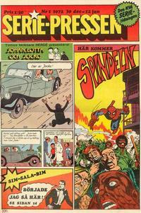 Cover Thumbnail for Serie-pressen (Saxon & Lindström, 1971 series) #1/1972