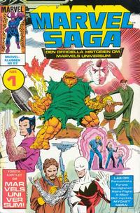 Cover Thumbnail for Marvel Saga (Semic, 1986 series) #1