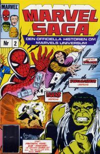 Cover Thumbnail for Marvel Saga (SatellitFörlaget, 1988 series) #2