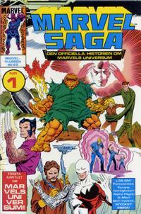 Cover Thumbnail for Marvel Saga (SatellitFörlaget, 1988 series) #1