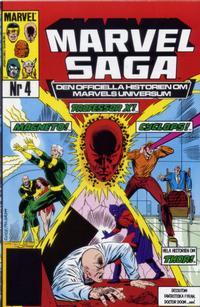 Cover Thumbnail for Marvel Saga (SatellitFörlaget, 1988 series) #4