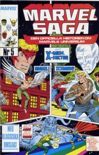 Cover Thumbnail for Marvel Saga (SatellitFörlaget, 1988 series) #5